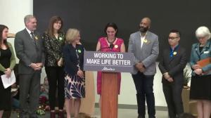 Children's Services Minister Danielle Larivee on $25 daycare expansion