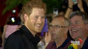'These are the role models we need': Prince Harry addresses Invictus Games party in Toronto (03:21)