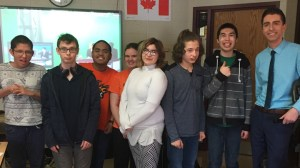 Marion Graham Collegiate latest stop for SkyTracker weather school