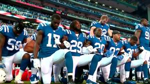 Political football: unprecedented faceoff between NFLers, Trump