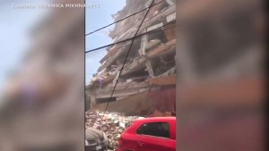 Panicked shoppers, swaying highrises, toppled buildings during earthquake in Mexico