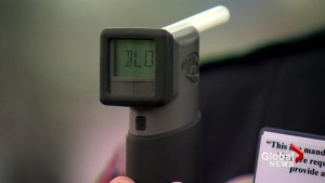 Mandatory breathalyzer tests are now in effect in Canada