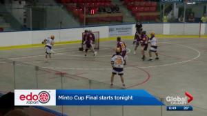 Minto Cup final starts Tuesday