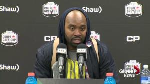 Kevin Glenn on Saskatchewan Roughriders winning East semifinal