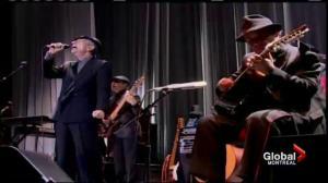 Leonard Cohen tribute concert in Montreal