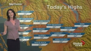 BC Evening Weather Forecast: Sep 26