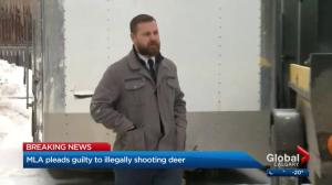 MLA Derek Fildebrandt won't return to UCP caucus after pleading guilty to illegal hunting