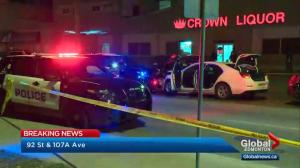 Edmonton police member stabbed near Commonwealth Stadium