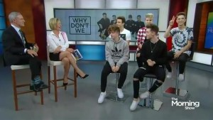 'Why Don't We?' talk life on the road