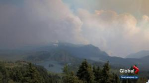 Verdant Creek wildfire Tuesday: crews work on spot fires, prepare to leave Sunshine Village