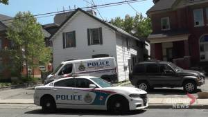 Peterborough police investigate at Stewart Street rooming house