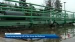 Sainte-Anne-de-Bellevue escapes major flooding for now