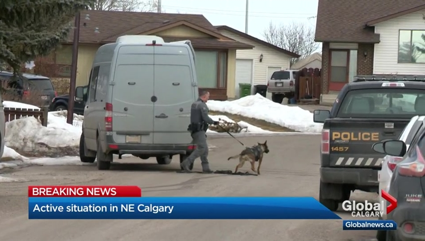 Police officer shot in Calgary
