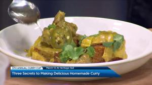 Three secrets to making delicious homemade curry