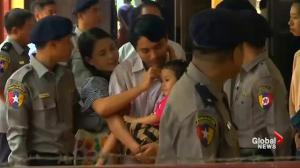 Myanmar police focused interrogation on Rohingya story according to Reuters journalist