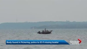 Body found in Pickering