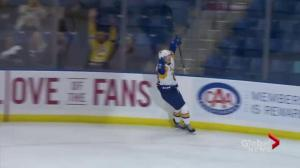 Saskatoon Blades slip past Red Deer Rebels 3-2 for 6th straight win