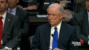 Sessions, Franken get into heated exchange during Senate hearing