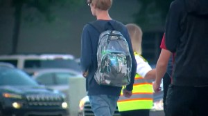 Students protesting clear backpacks at Florida school in wake of shooting
