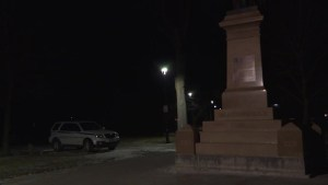 So far, no vandalism done to Sir John A. Macdonald's statue in Kingston this year