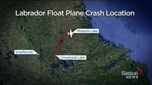 Float plane crashes in remote Labrador lake
