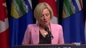 Feds weren't 'very pleased' with Alberta backing out of climate action plan, according to Notley