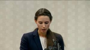 'Today was only the beginning': Nassar victim Rachael Denhollander