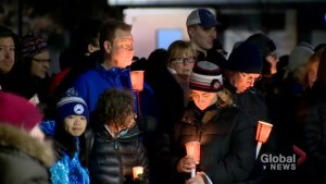 Vigil held for Toronto family after fatal cottage fire near Peterborough