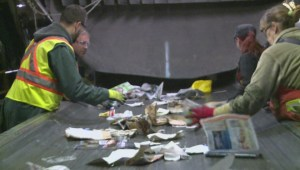 Discarded needles a hazard for workers in recycling business