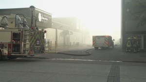 Hockey Shop Fire in Surrey