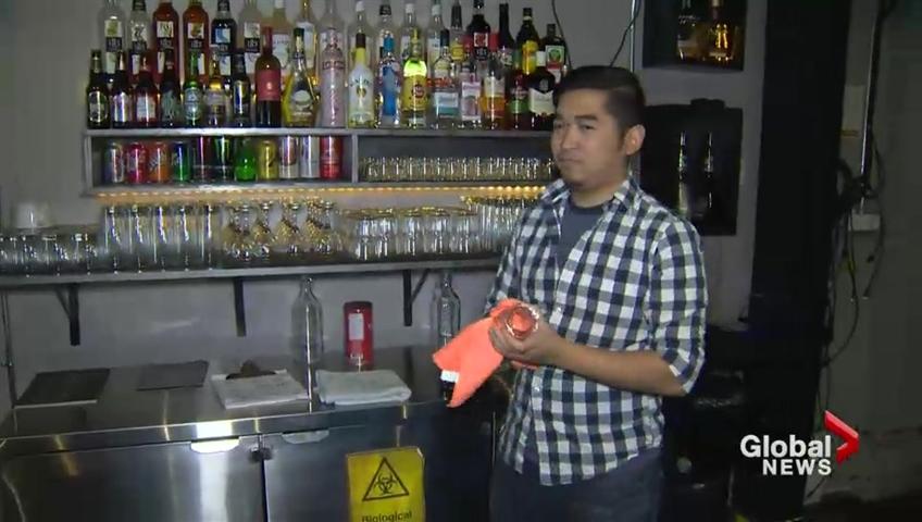 Brown liquor and an escort service