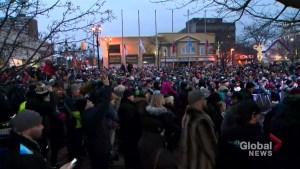 Memorial tribute held for Walk Off The Earth's Mike 'Beard Guy' Taylor brings out hundreds in Burlington