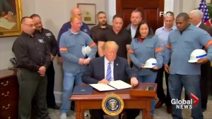 Trump puts temporary halt to aluminum and steel tariffs