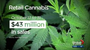 Alberta businesses say cannabis sales are encouraging