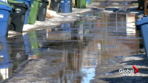 City of Calgary asking residents to be prepared for big melt ahead