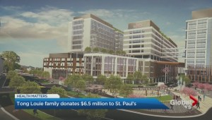 Tong Louie family donates $6.5 million to St. Paul's