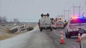 Man dies in collision on Highway 10