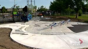 Inclusive playground under construction in Kirkland