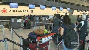 New Canada air passenger rules come into effect