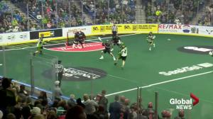 Saskatchewan Rush hold off Vancouver Stealth for 11-9 win