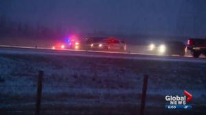 Return of winter creates havoc on Calgary-area roads