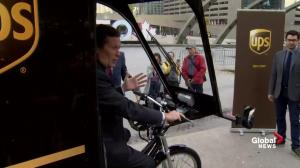 Toronto partners with UPS on delivery bike pilot project