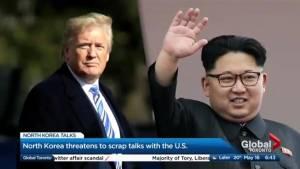 North Korea threatens to scrap U.S. talks