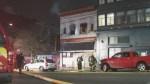 Firefighter hurt after driver plows through fire scene