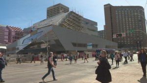 Makeover of Edmonton's Stanley A. Milner Library starts to take shape