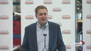 'Canadians are behind you and will support you': Scheer