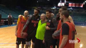 Moncton Miracles grant wish to fan with Parkinson's disease