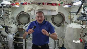 David Saint-Jacques calls space mission 'humbling' and a 'privilege'