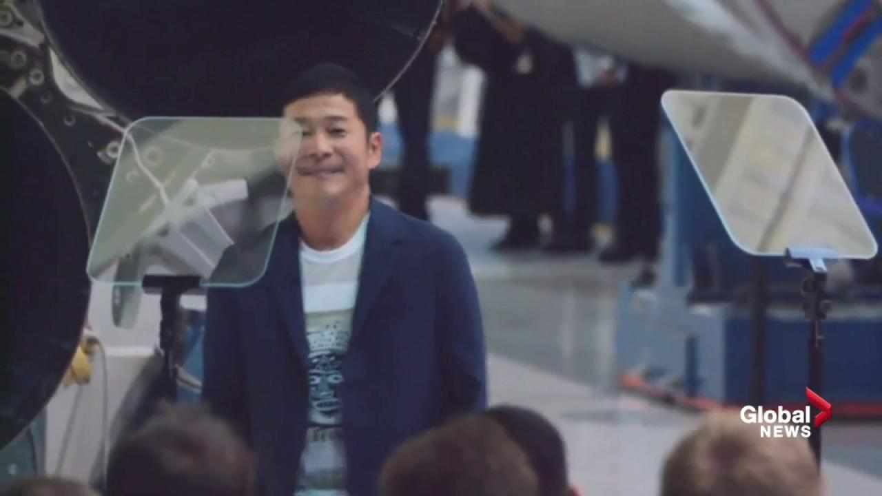 Japanese billionaire revealed as SpaceX's first Moon traveller