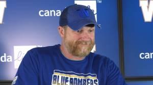 RAW: Blue Bombers Mike O'Shea Media Briefing – July 10